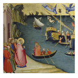 The Legend of Saint Nicholas Poster by Ambrogio Lorenzetti