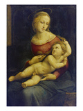 Madonna with Child Lying on Her Lap. (The So Called Bridgewater Madonna) About 1507/08 Affiches par  Raphael