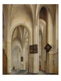 Innenansicht Der St.Jakobs-Kirche in Utrecht, 1642 Giclee Print by Pieter Jansz Saenredam