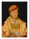 Margrave Casimir Von Brandenburg, 1511 Giclee Print by Hans Suess Kulmbach