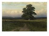 Mitten in Der Weite, 1883 Giclee Print by Iwan Iwanowitsch Schischkin