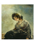 The Milkmaid of Bordeaux, about 1825-27 Giclee Print by Francisco de Goya