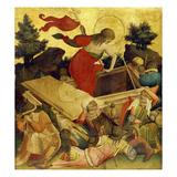 Thomas-Altar, 1424-1436. Auferstehung Christi Wydruk giclee autor Master Francke