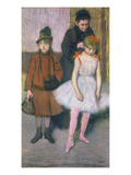 The Mante Family. Abuout 1884 Art by Edgar Degas