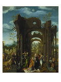 Adoration of the Magi Giclee Print by  Master of the Antwerp Adoration