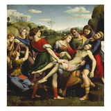 Burial of Jesus, 1507 Affiches par  Raphael
