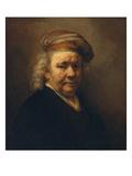 Last Self-Portrait, 1669 Giclee Print by  Rembrandt van Rijn
