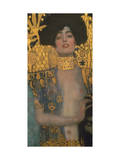 Judith with the Head of Holofernes, 1901 Poster by Gustav Klimt