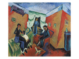 Interieur, 1914 Giclee Print by Ernst Ludwig Kirchner