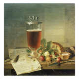Bock Beer-Still Life, 1839 Giclee Print by Johann Wilhelm Preyer