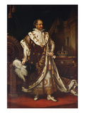 Portrait of Maximilian I., King of Bavaria, 1822 Giclee Print by Joseph Karl Stieler