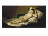 The Naked Maja, 1798-1803 Posters by Francisco de Goya