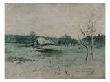 Wintermorgen Giclee Print by Antonin Slavicek