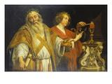 Der Hl.Augustin Im Priestergewand Giclee Print by Jacob Jordaens