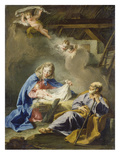Nativity Poster by Giovanni Battista Pittoni