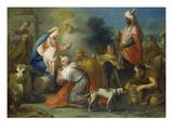 Anbetung Der Koenige Giclee Print by Jacopo Amigoni
