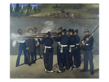 The Execution of Emperor Maximilian of Mexico 1867 Print by Edouard Manet