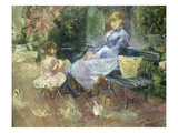 The Fairy Tale, 1883 Prints by Berthe Morisot