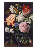 Vase with Flowers, 1637 Giclee Print by Daniel Seghers