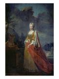 Maria Amalia Von Bayern, Gemahlin Karl Albrechts Giclée-Druck von Joseph Vivien