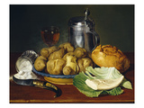 Still Life with Boiled Potatoes, 1836 Giclee Print