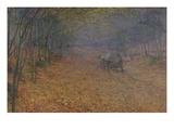 Im Herbstnebel, 1897 Giclee Print by Antonin Slavicek