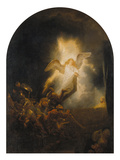 Resurrection of Jesus, 1639 Giclee Print by  Rembrandt van Rijn