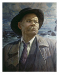 Portrait Von A.M.Gorki, 1937 Giclee Print by Isaak Brodskij