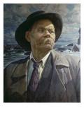 Portrait Von A.M.Gorki, 1937 Giclee Print by Isaak Brodskij