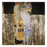 The Three Ages, 1905 Prints by Gustav Klimt
