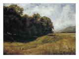 Field Road Near Kronberg, 1877 Giclee Print by Louis Eysen