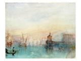 Venice with a First Crescent Moon Affiche par J. M. W. Turner