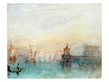 Venice with a First Crescent Moon Print by J. M. W. Turner