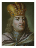Duke Ludwig Iv. of Lower Bavaria, Referred to as the Bavarian (1283-1347) Giclée-tryk af German School