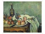 Stilleben Mit Zwiebeln. Gegen 1895 Giclee Print by Paul Cézanne