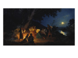 The Iwan Kupala Night Giclee Print by Genrikh Ippolitovich Semiradski