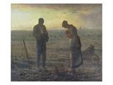 Evening Prayer (L'Angélus), 1857/59 Giclée-tryk af Jean-François Millet