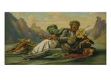 Vater Rhein Spielt die Fiedel Volkers. (60-Er Jahre) Giclee Print by Moritz Von Schwind