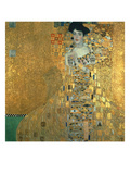 Portrait of Adele Bloch-Bauer I., 1907 Reproduction procédé giclée par Gustav Klimt