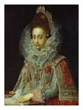 Duchess Magdalene of Bavaria, 1587-1628 Giclee Print by Pieter De Witte