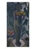 Nude Child with Goldfish Bowl, about 1906/07 Giclee Print by Paula Modersohn-Becker