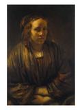 Portrait of Hendrickje Stoffels Giclee Print by  Rembrandt van Rijn