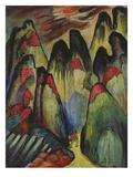 Le Forfait, about 1930 Giclee Print by Marianne von Werefkin