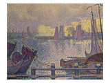 The Port of Volendam Prints by Paul Signac