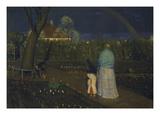 The Rainbow, 1896 Giclee Print by Leopold Karl Walter von Kalckreuth