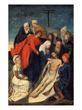 The Lamentation of Christ Prints by Hugo van der Goes