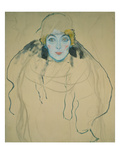 Head of a Woman, 1918 Giclee Print