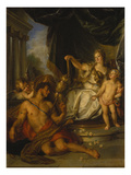 Hercules and Omphale, 1731 Giclee Print by Charles Antoine Coypel