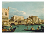 Mole Und Riva Degli Schiavoni as Seen from Bacino Di S.Marco Giclee Print by  Canaletto