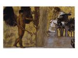 Huldigung an Die Malerei, 1889 Gicléetryck av Franz von Stuck